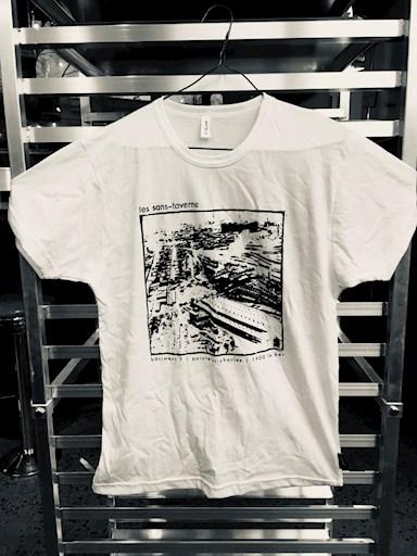 t-shirt-blanc - les sans taverne